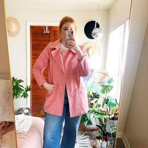 Pink Coat Size large